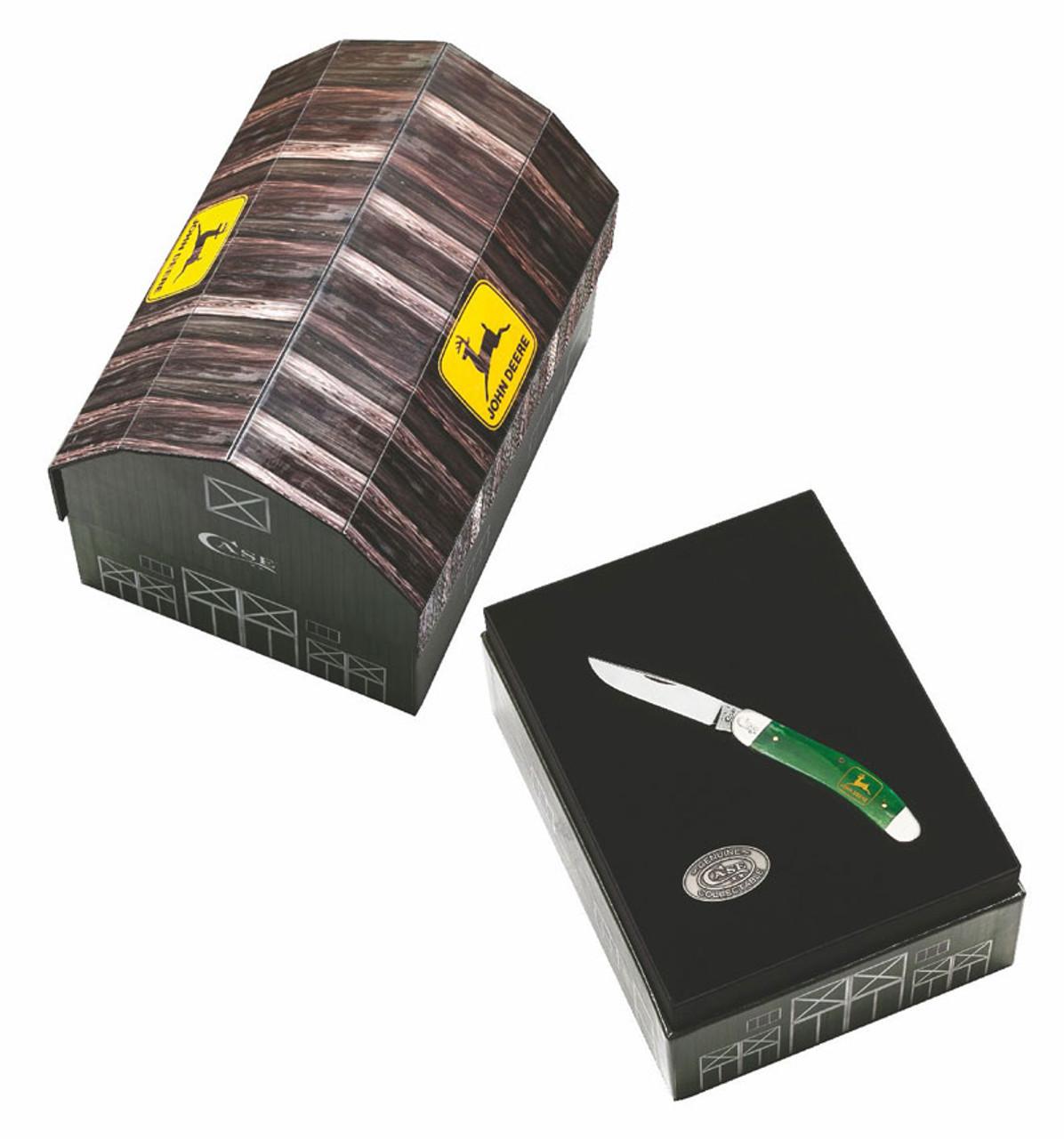 Case John Deere Sowbelly With Barn Gift Set
