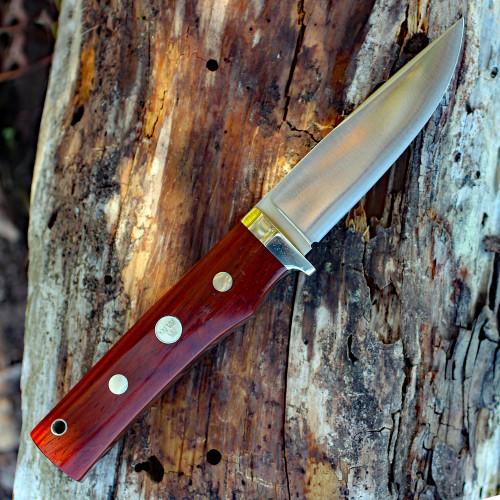 Fallkniven Tre Kronr de Luxe, Cocobolo, Leather Sheath