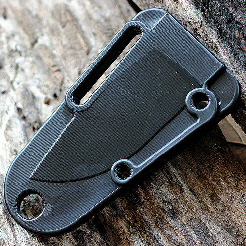 ESEE IZULA Survival Kit & Concealed Carry Knife, Black