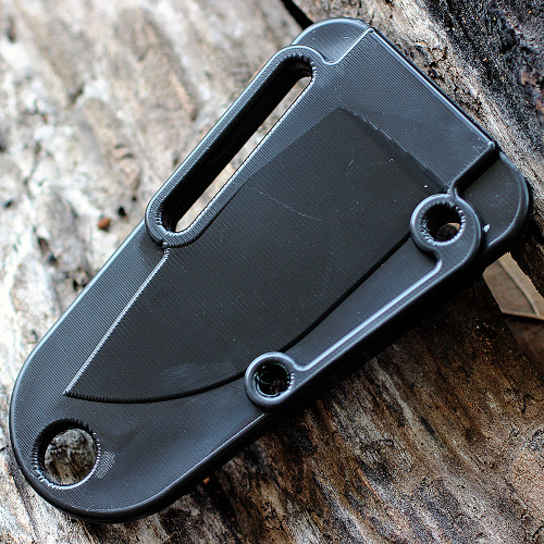 ESEE IZULA Survival Kit & Concealed Carry Knife, Desert Tan