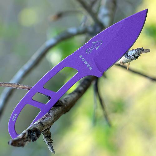 Esee Candiru Knife Purple, Clear/White Molded Sheath