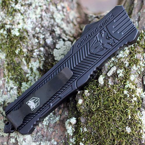 CobraTec Knives LBCTK-1LDAGNS Dagger Large CTK-1 Black