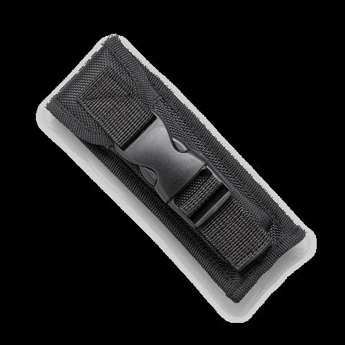 """CobraTec Knives SCFCTK-1SDAG2SS Small CTK-1 Carbon Fiber Wrap, 2.75"""" D2 Steel Dagger Two-Side Serrated Blade, Aluminum Handle"""