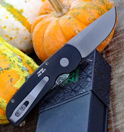 """ProTech 2201 Calmigo, 2.0"""" 154cm Beadblast Plain Blade, Aluminum Handle"""
