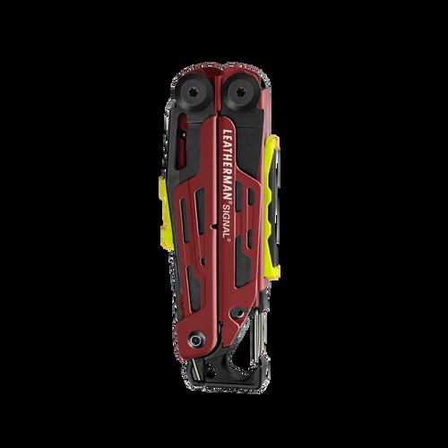 Leatherman 832743 Signal, Crimson Cerakote Stainless Steel, 19 Tools