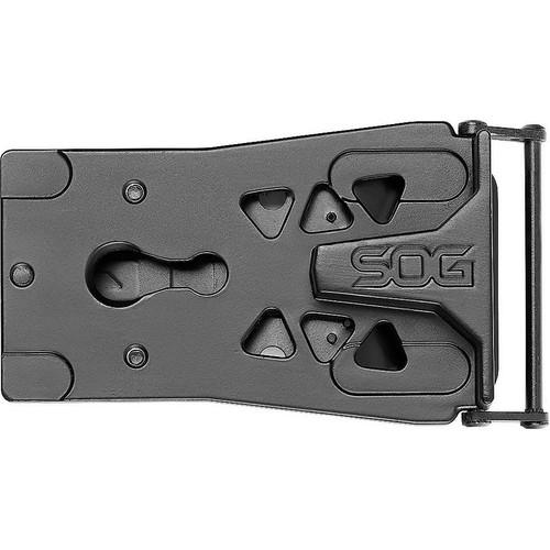 SOG SN1012CP Sync II Traveler Multi-Tool, 5Cr15MoV, Black, 11 Tools