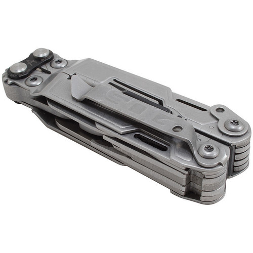 SOG PP1001CP PowerPint Multi-Tool, Bead Blast, 18 Tools