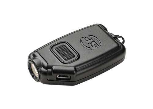 Surefire Sidekick-A Ultra-Compact Pocket Light, Rechargeable Battery, 5/60/300, Black Polymer Body