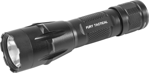 Surefire Fury-DFT Dual Fuel Tactical Led Flashlight, 6V 1500LU, Aluminum Black Type III
