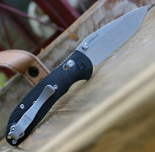 Doug Ritter Mini-RSK®  MK1-G2 Knifeworks Exclusive - Black / Stonewashed