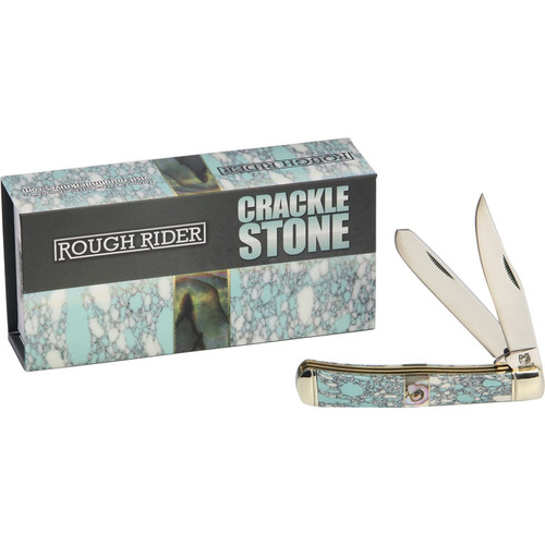 Rough Ryder Trapper, RR1531, Crackle Stone Handle