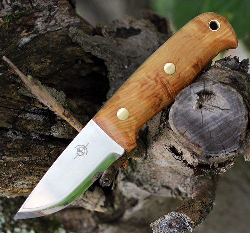 "Helle Wabakimi HE630, 3.307"" Triple Laminated Stainless Steel"