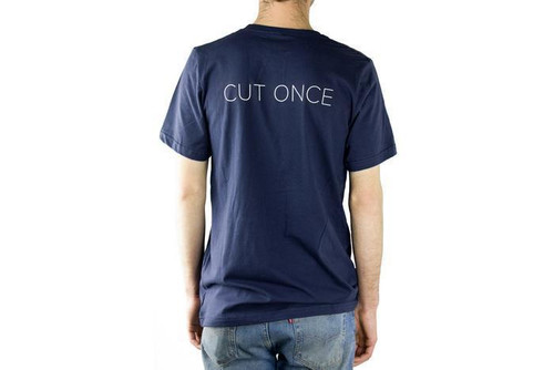 Chris Reeve Knives  CRK T-Shirt, Navy, Large