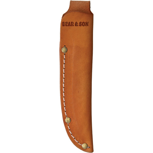 """Bear and Son 263R Rosewood Small Hunter, 2 3/8"""" High Carbon Steel Plain Blade, Rosewood Handle"""