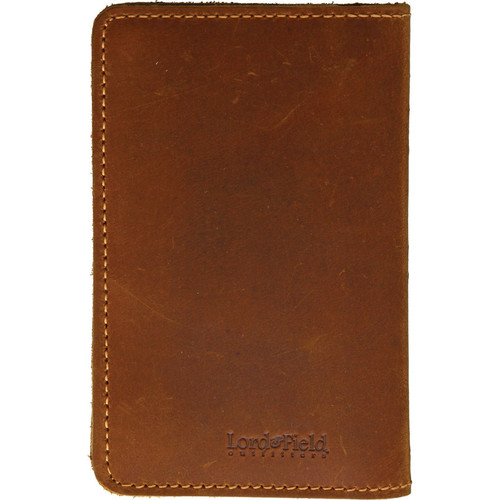 Lord & Field Outfitters Trail Notes Leather Notepad