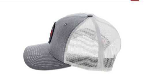 Bubba Grey The Ultimate Lifestyle Hat with White Mesh Back