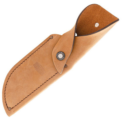 "Buck 401 Kalinga Knife 0401BRSLE- 2021 Legacy Collection,  4.75"" S35VN Satin Plain Blade, Brown Burlap Micarta Handle"