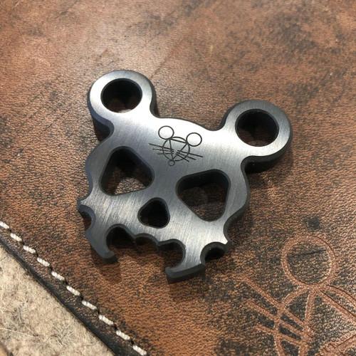 GiantMouse Morbid Mouse Mini Titanium Pocket Tool, MM-MINI-TI