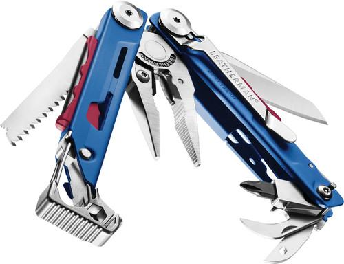 Leatherman Signal Multi-Tool 832739, 19 Tools, Cobalt Handle with Black Nylon Sheath