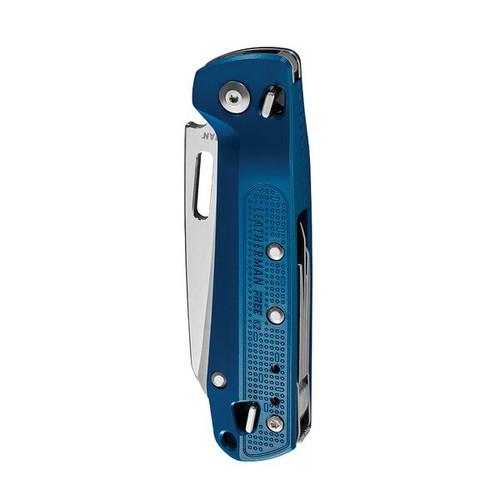 "Leatherman Free K2 (832897), 3.3"" 420HC SS Plain Blade, 8 Tools, Navy Aluminum Handle"