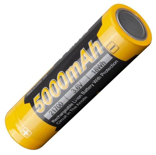 Fenix L215000 USB Rechargeable 21700 Li-ion Battery, 5000 mAh