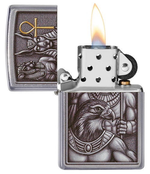 Zippo 49406-000003 Egyptian Gods Design Lighter