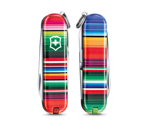 """Victorinox Swiss Army Classic SD Limited Edition 2021 """"Patterns of the World"""" - Mexican Zarape, 0.6223.L2101"""