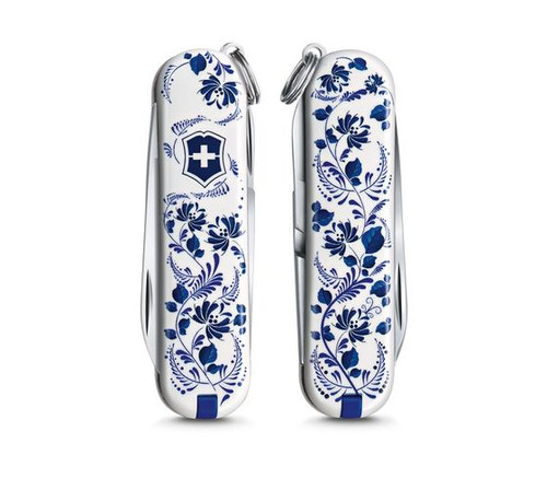 """Victorinox Swiss Army Classic SD Limited Edition 2021 """"Patterns of the World"""" - Porcelain Elegance - 0.6223.L2110"""