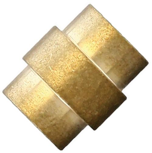 Flytanium Brass Crosshair Lanyard Hole Stopper - for Spyderco Paramilitary 2 / Para 3 Knife