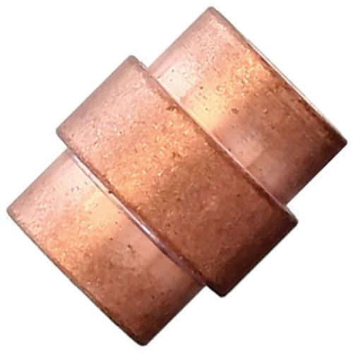 Flytanium Copper Crosshair Lanyard Hole Stopper - for Spyderco Paramilitary 2 / Para 3 Knife
