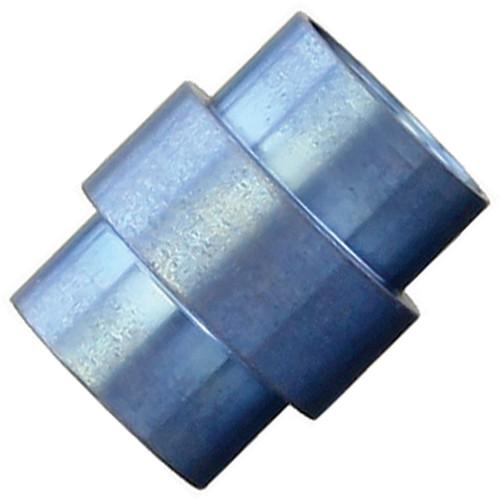 Flytanium Blue Titanium Stonewashed Stepped Hole Stopper - for Spyderco Paramilitary 2 / Para 3 Knife