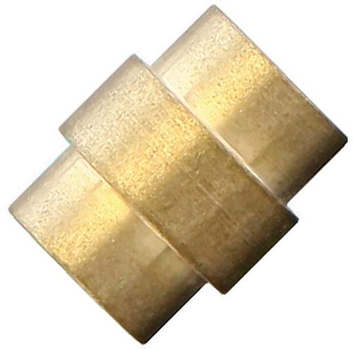 Flytanium Brass Stonewashed Stepped Hole Stopper - for Spyderco Paramilitary 2 / Para 3 Knife