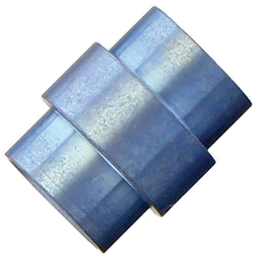 Flytanium Blue Titanium Stonewashed Spiral Hole Stopper - for Spyderco Paramilitary 2 / Para 3 Knife