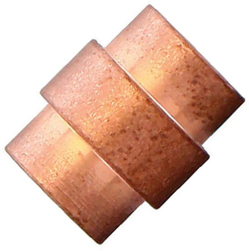 Flytanium Copper Titanium Stonewashed Spiral Hole Stopper - for Spyderco Paramilitary 2 / Para 3 Knife
