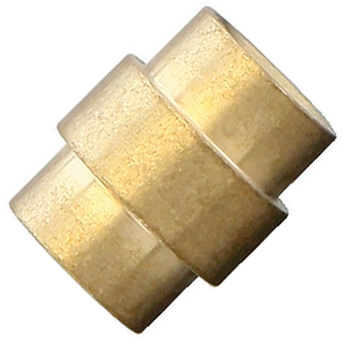 Flytanium Brass Titanium Stonewashed Spiral Hole Stopper - for Spyderco Paramilitary 2 / Para 3 Knife