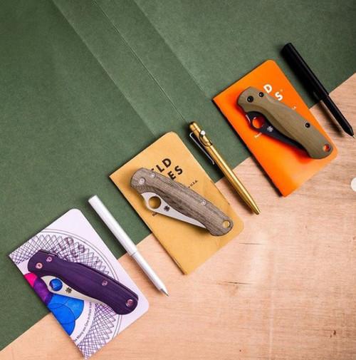 Flytanium Lotus Jade G-10 Scales - for Spyderco Paramilitary 2 Knife