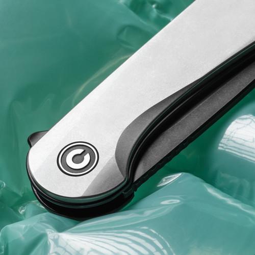 Flytanium Contoured Titanium Scales - for CIVIVI Elementum