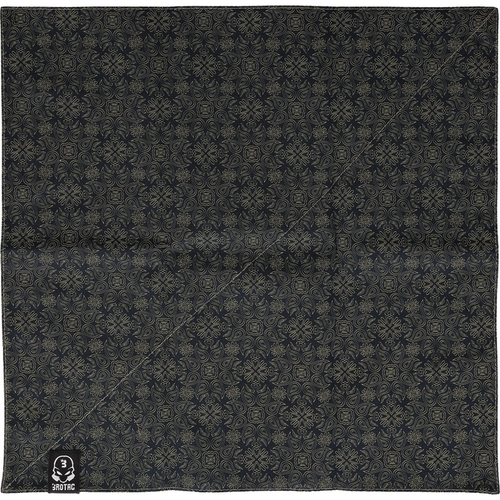 Bastinelli Creations Ice Scream Handkerchief - Black & Orange (BAS232)