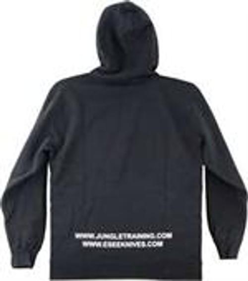 ESEE RAT 2316 Black Sweatshirt with Hood, Medium