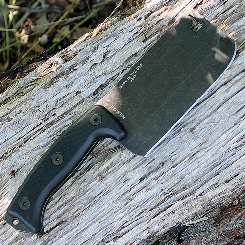 Esee Expat Knives Cleaver w/Black G-10 Handle, ESEE-CL1