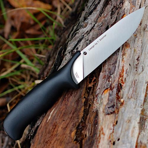 Spyderco Zoomer FB42GP, 5.20 in CPM20CV Plain Blade, G-10 Handle
