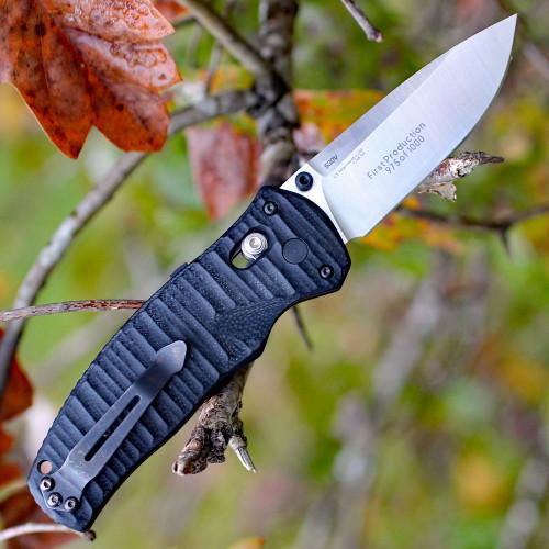 "Benchmade BM1000001 Volli, 3.2"" CPM-S30V SS Plain Blade, G-10 Handle"