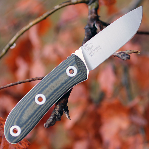 Benchmade 15400 Pardue Hunter Fixed Blade, 7.96 in CPM-S30V Plain Blade, Micarta Handle