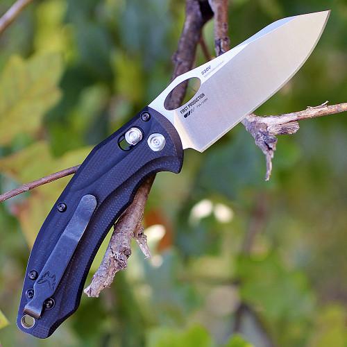 Benchmade Mini Loco 818, 3.38 in. CPM-S30V, Black G-10 Handle