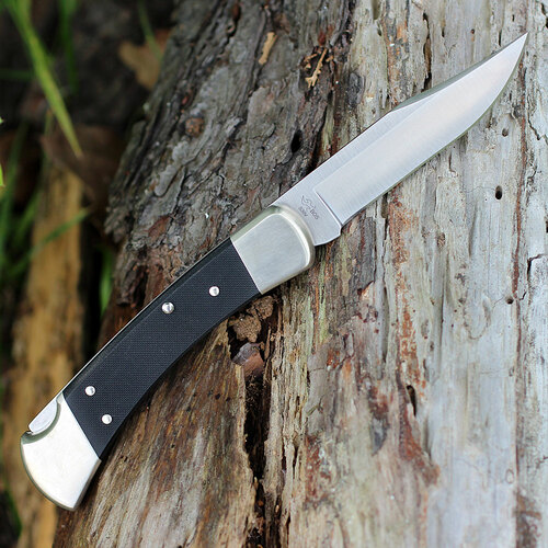 "Buck 110BKSA Auto Elite, 3.75"" S30V Plain Blade, G-10 Handle"