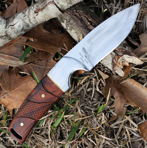"Browning Cocobolo Fixed Blade, 3."" Stainless Plain Blade, Cocobolo Handle"