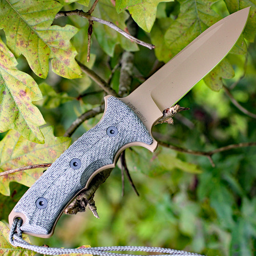 "Chris Reeve Green Beret 5.5"", Non-Serrated Flat Dark Earth Blade (GB5-1002)"