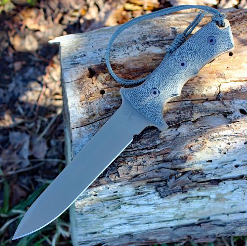 "Chris Reeve Green Beret 7"" Plain Blade  with Flat Dark Earth PVD (GB7-1002)"