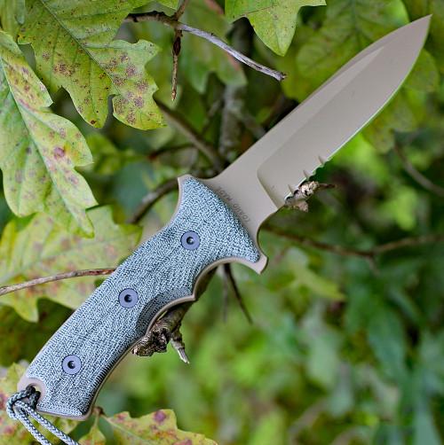 "Chris Reeve Green Beret 5.5"", Serrated Flat Dark Earth Blade (GB5-1003)"