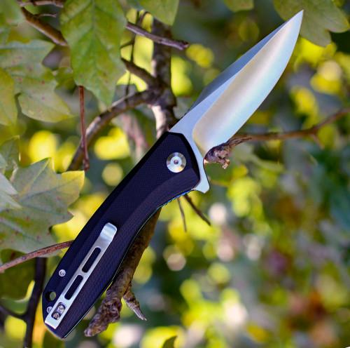 """CIVIVI BAKLASH FLIPPER POCKET KNIFE 801C, 3.5"""" 9Cr18MoV STAINLESS STEEL BLADE,  G-10 HANDLE"""